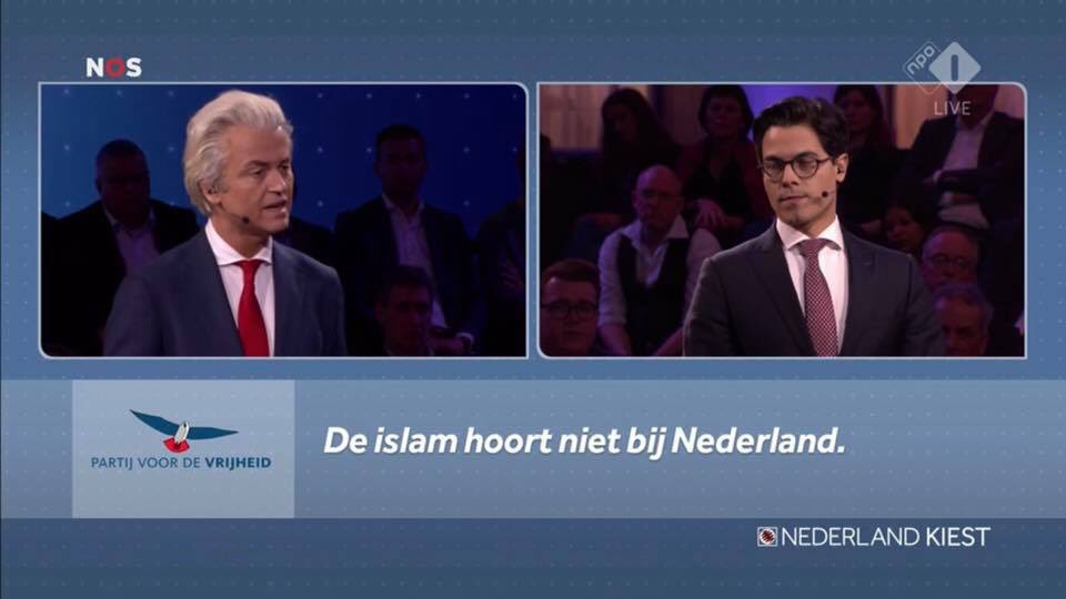 Less than a week after the #Christchurch attacks Dutch politicians are debating the Freedom Party's Geert Wilders' claim: 'Islam does not belong to Netherlands' during a debate for the regional elections today. #stemmen #PS2019 #PS19 #verkiezingen2019