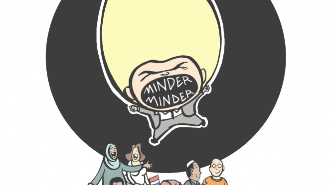 Dutch mosque council releases Wilders cartoon